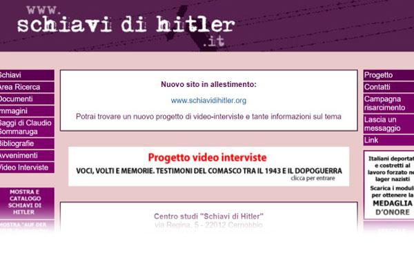Sito www.schiavidihitler.it